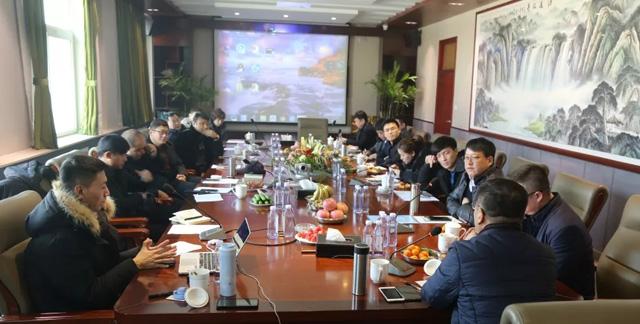 2019年施工技术联盟第一次工作会议在望都召开